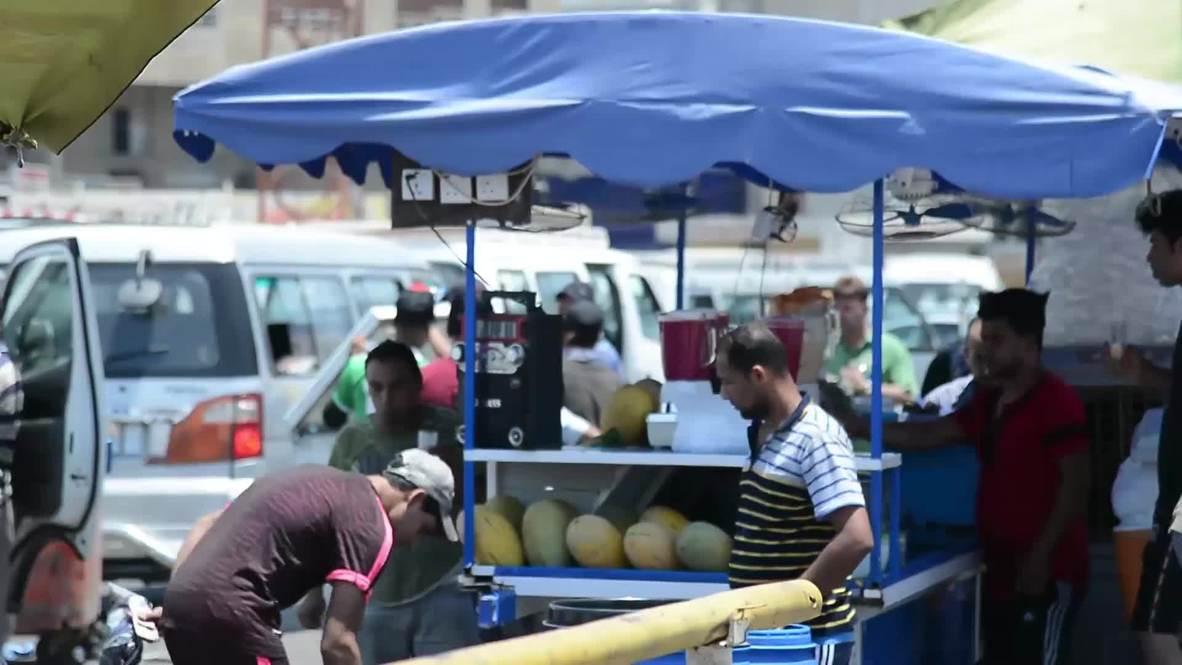 Irak: Residentes de Bagdad lidian con ola de calor en medio de cortes de energía eléctrica
