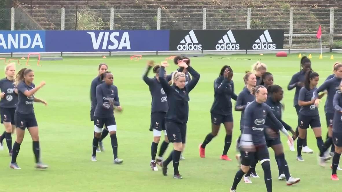 France: France's Viviane Asseyi dreaming of '98 final rematch vs. Brazil
