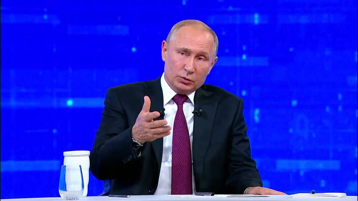 """Россия: """"Критика власти должна быть свободной"""" – Путин о сути закона о неуважении к власти"""