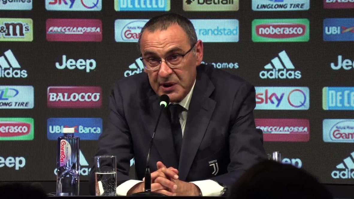 Italia: La Juventus presenta a Maurizio Sarri como su nuevo entrenador