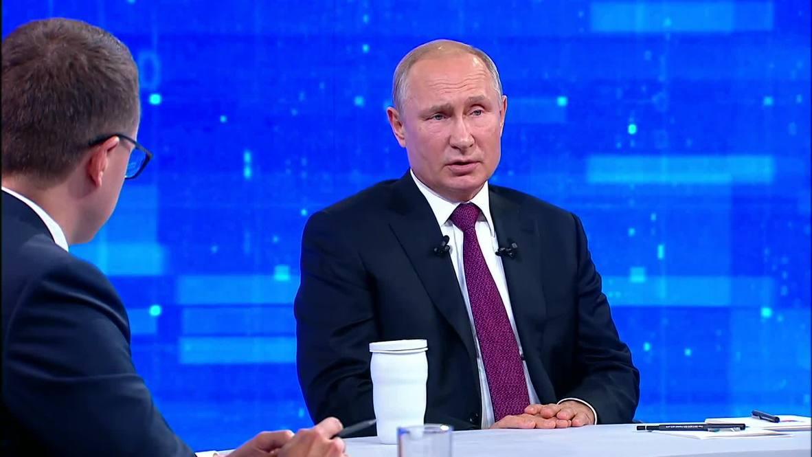 Russia: Putin praises Moscow's nuclear parity against rivals