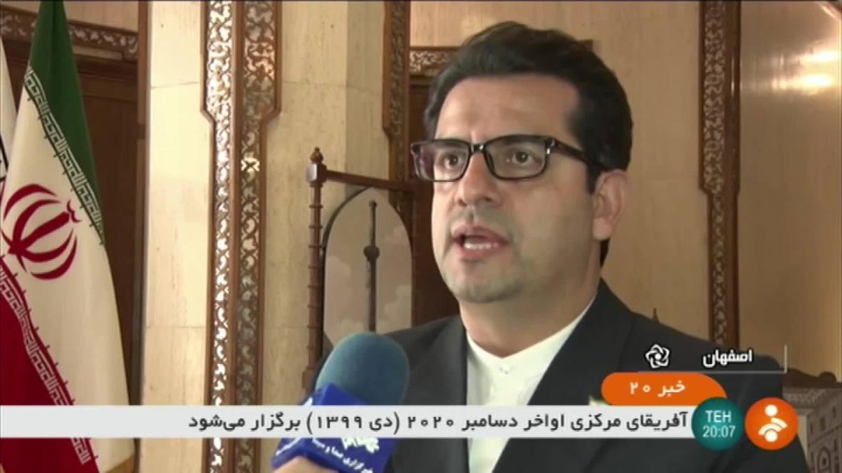 Irán: El portavoz del Ministerio de Asuntos Exteriores condena el uso de drones por parte de EE.UU.