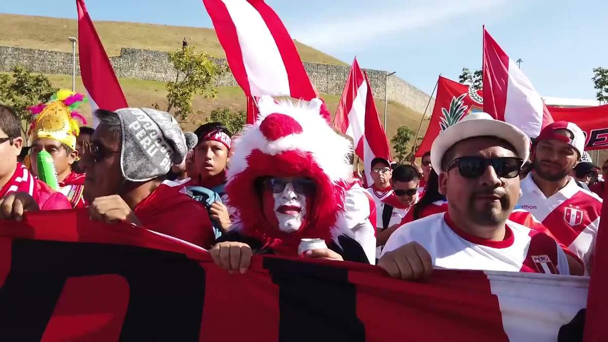 Brasil: La hinchada peruana se traslada a Sao Paulo para ver el juego de su equipo ante el local
