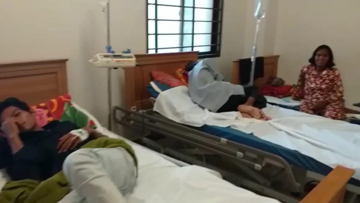 Camboya: Aumenta a 24 el número de muertos por derrumbe de edificio en Sihanoukville