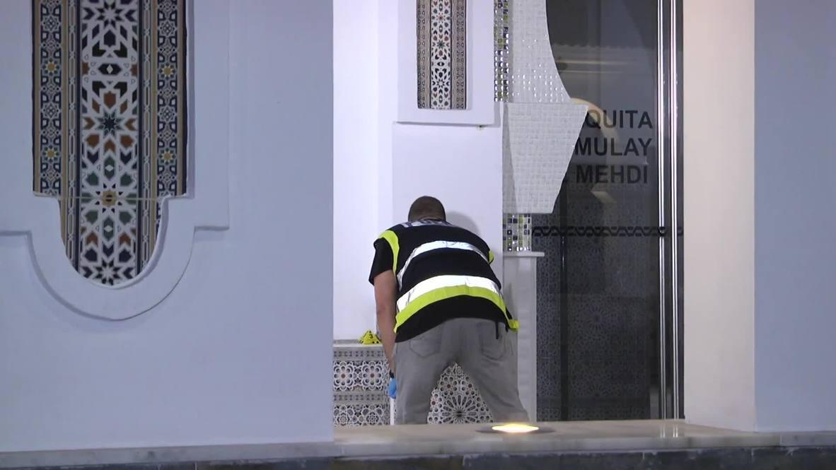 España: Disparan contra una mezquita en Ceuta