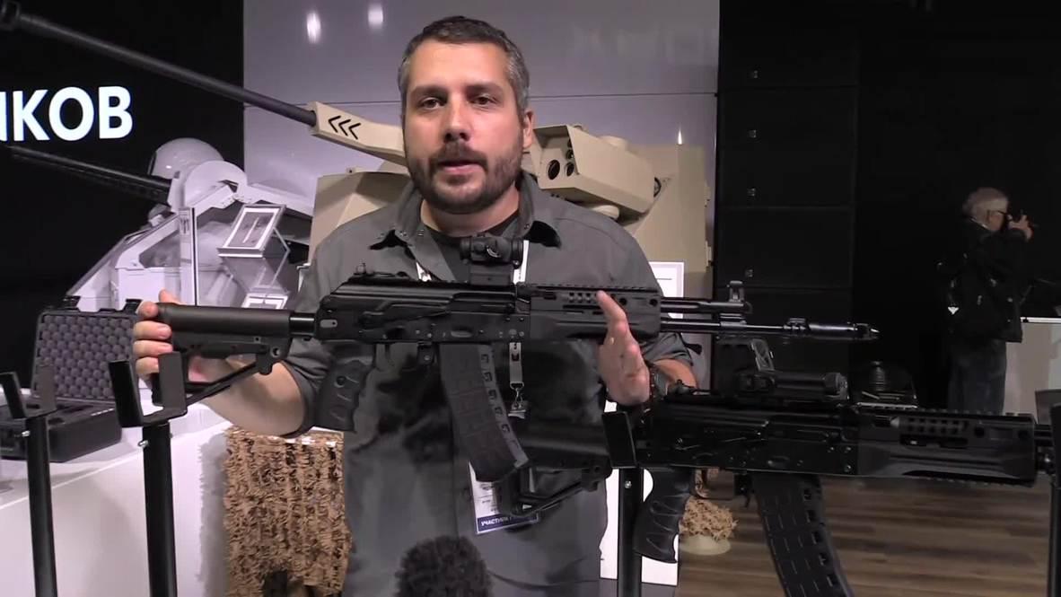 Rusia: Kalashnikov presenta la versión civil de su icónico AK-12 en Moscú