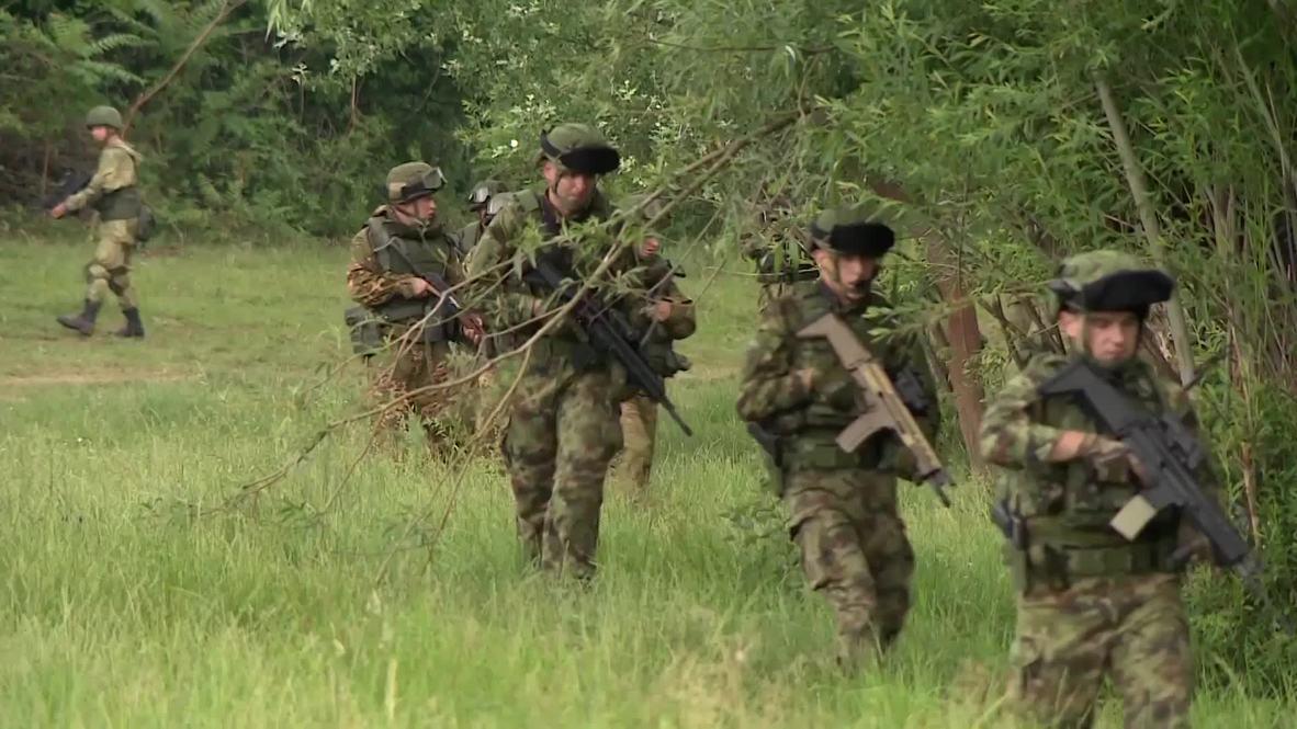 Сербия: Десантники из России, Сербии и Белоруссии завершили третий этап совместных учений
