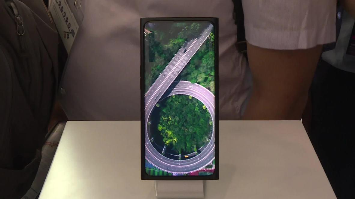 OPPO presenta el primer móvil con cámara bajo la pantalla en Shanghái