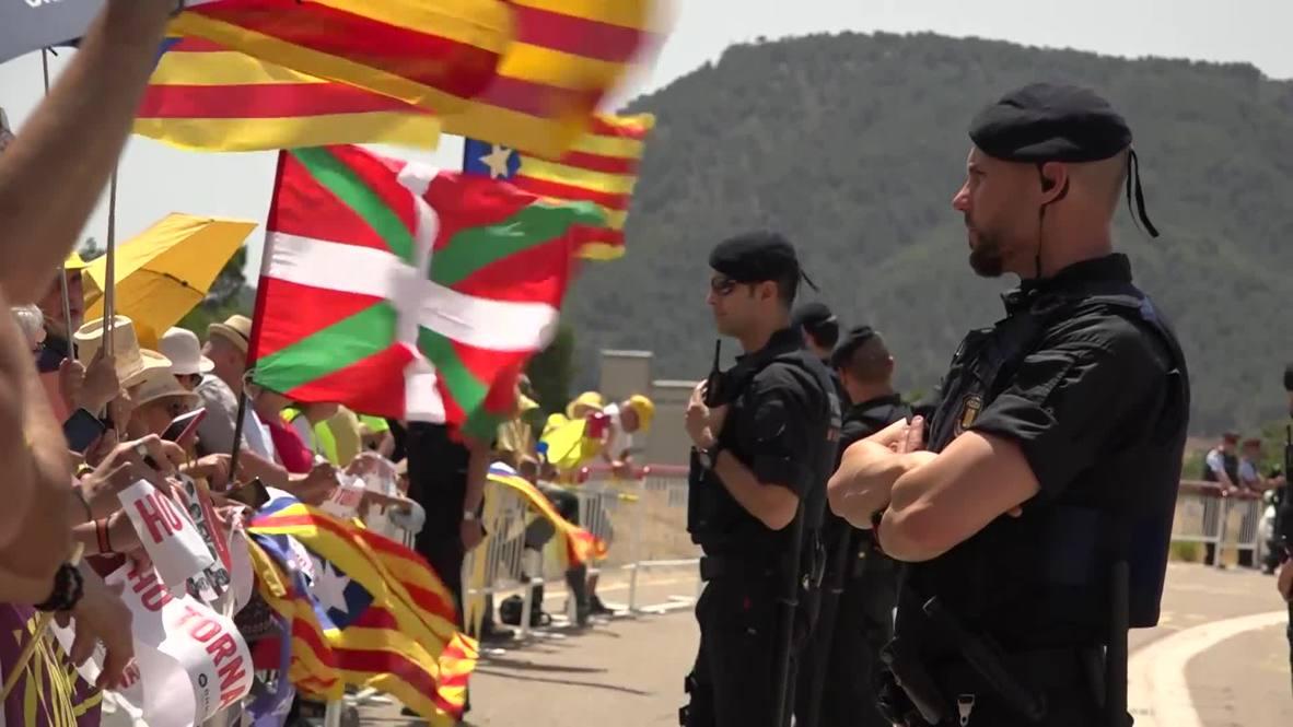 Spain: Separatist leaders return to prison in Catalonia after Madrid trial