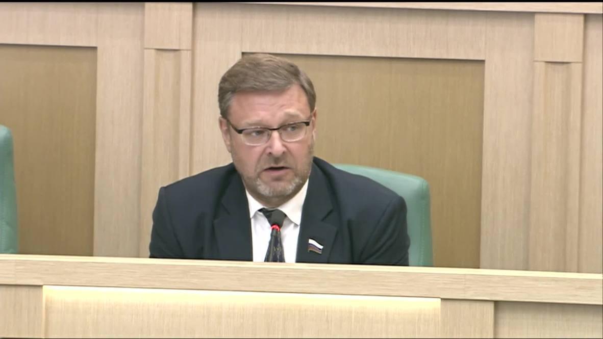 Россия: Совет Федерации одобрил приостановление участия России в ДРСМД