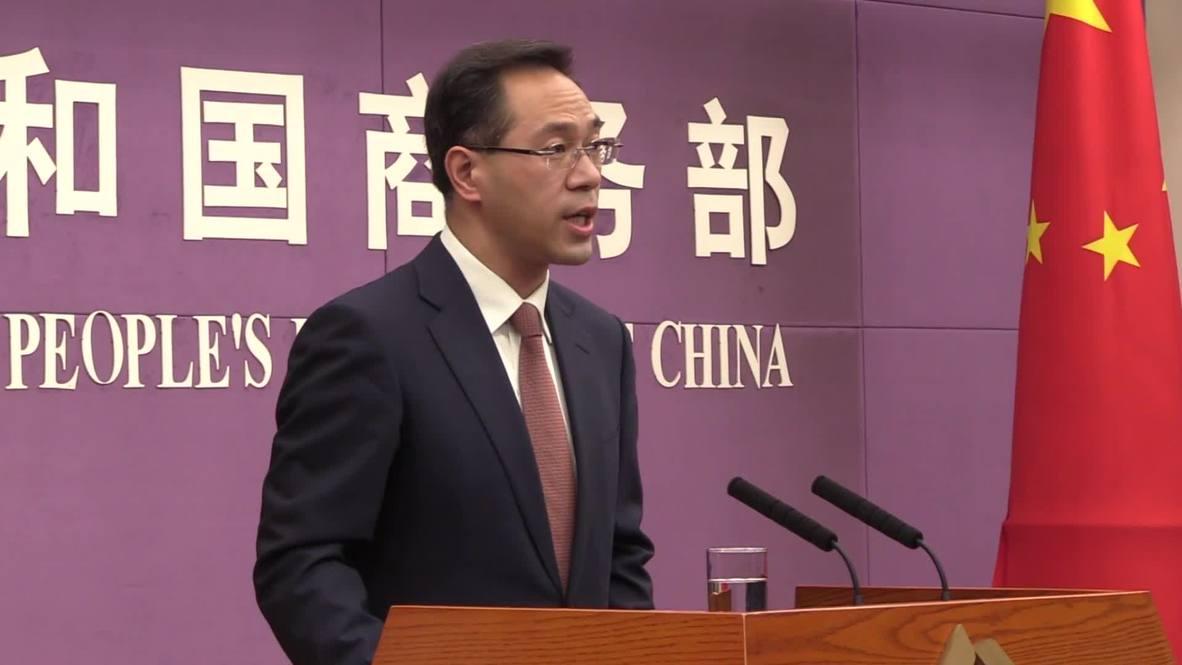 "China: EE.UU. ""se beneficia a expensas de otros"" - Ministerio de Comercio chino"