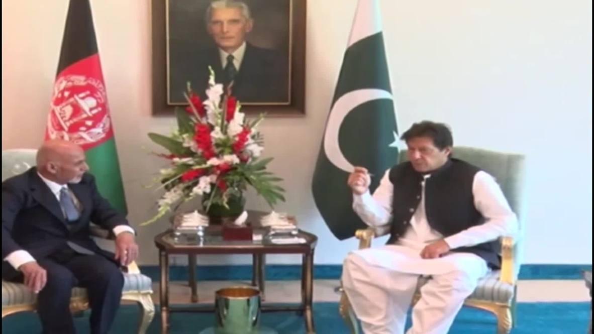 Pakistan: Afghan President Ghani meets PM Khan for talks