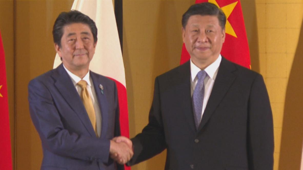 Japón: Shinzo Abe y Xi Jinping se estrechan las manos dando inicio a una nueva era en relaciones bilaterales