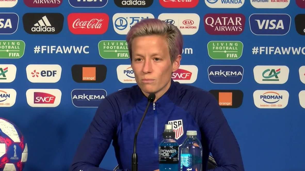Francia: Capitana de equipo femenino de EE.UU. reafirma sus dichos sobre eventual visita a la Casa Blanca