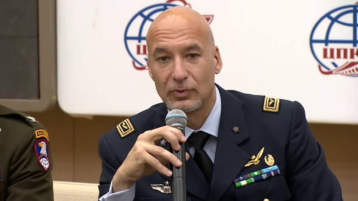 Россия: Экипаж экспедиции МКС-60/61 провёл предполётную пресс-конференцию