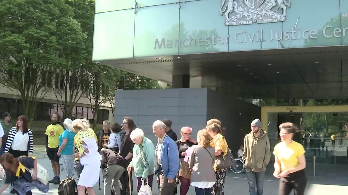 UK: Anti-fracking activists broke injunction, rules Manchester court