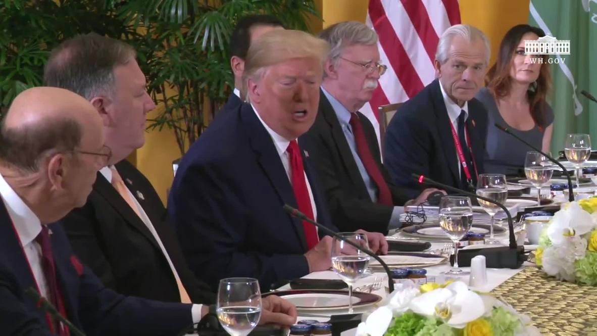 Japan: Trump offers to meet Kim Jong-un at DMZ