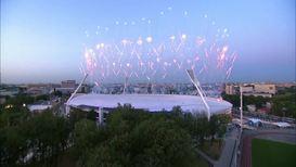 Белоруссия: Владимир Путин посетил церемонию закрытия II Европейских игр