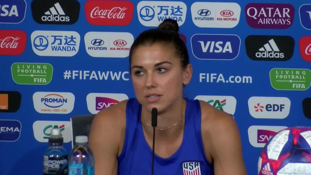 Francia: Mi objetivo es ayudar a este equipo a ganar un Mundial - Morgan