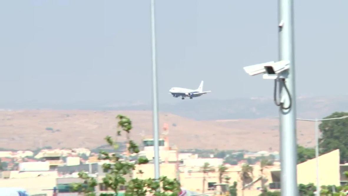 Israel: Un avión alemán realiza un aterrizaje de emergencia en Tel Aviv