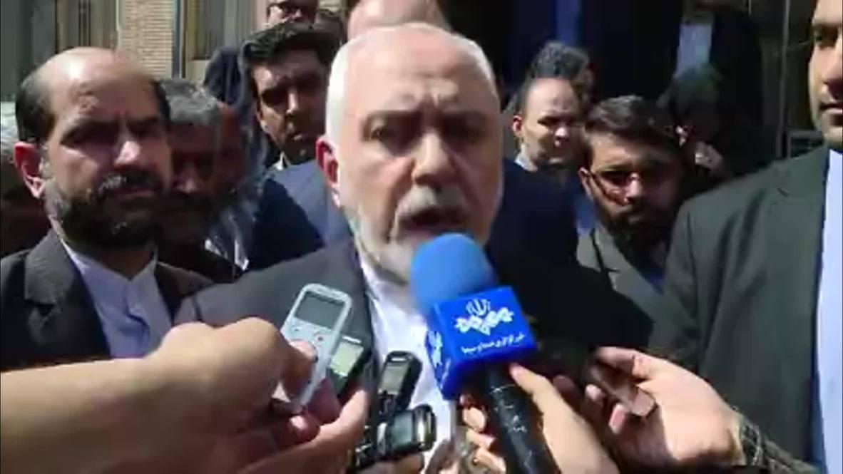 Iran: Tehran has exceeded nuclear deal's enriched uranium limit - FM Zarif