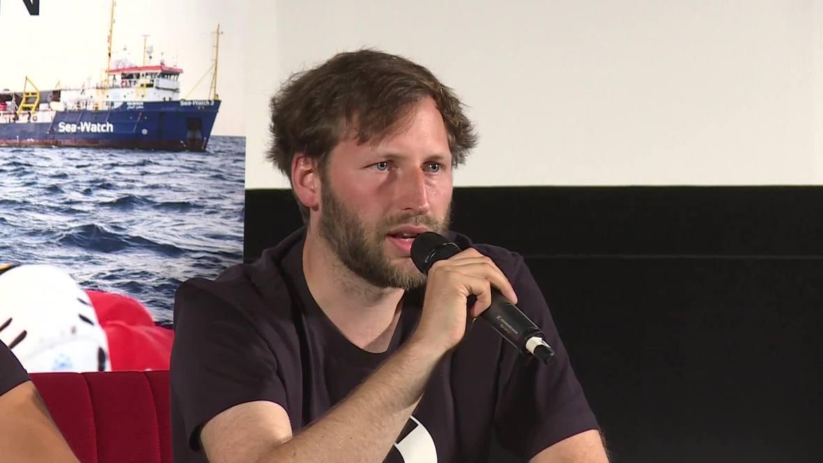 Alemania: ONG Sea Watch advierte que seguirá rescatando migrantes pese a arresto de capitana