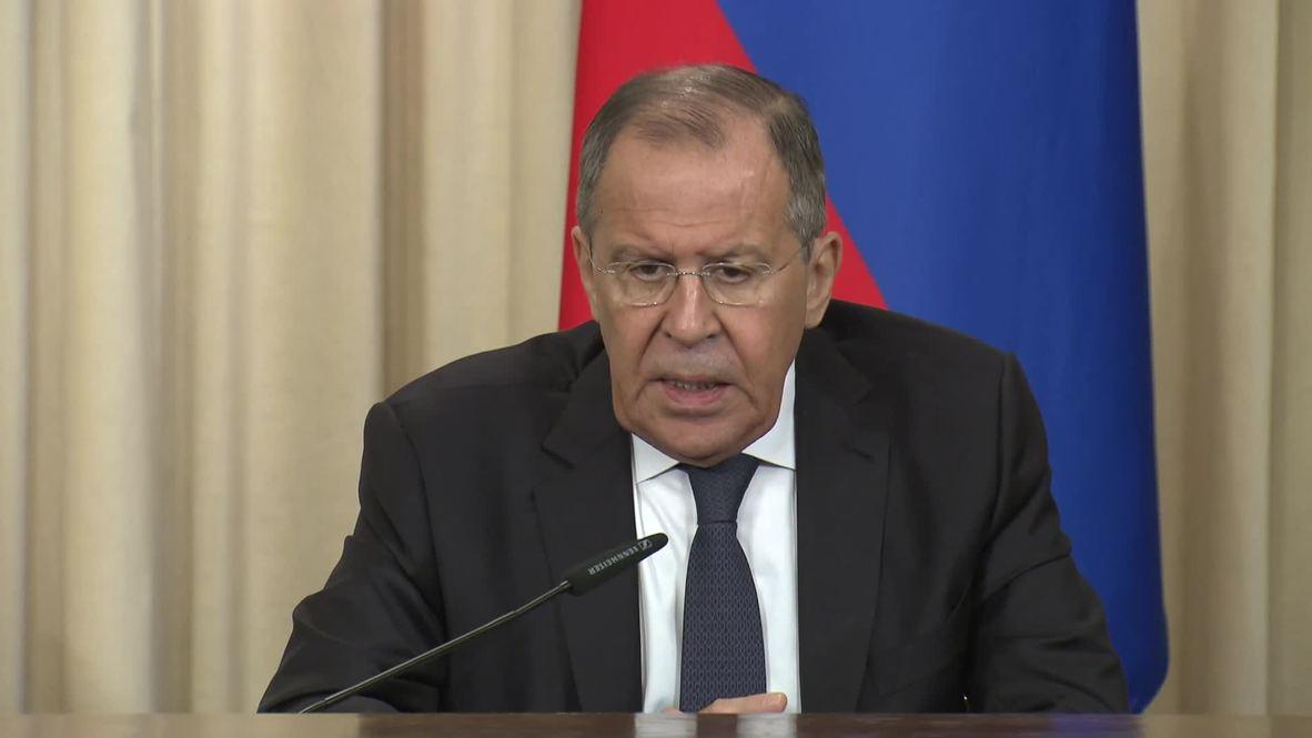 Россия: Москве неизвестно, насколько план США по ближневосточному урегулированию соответствует резолюциям СБ ООН - Лавров