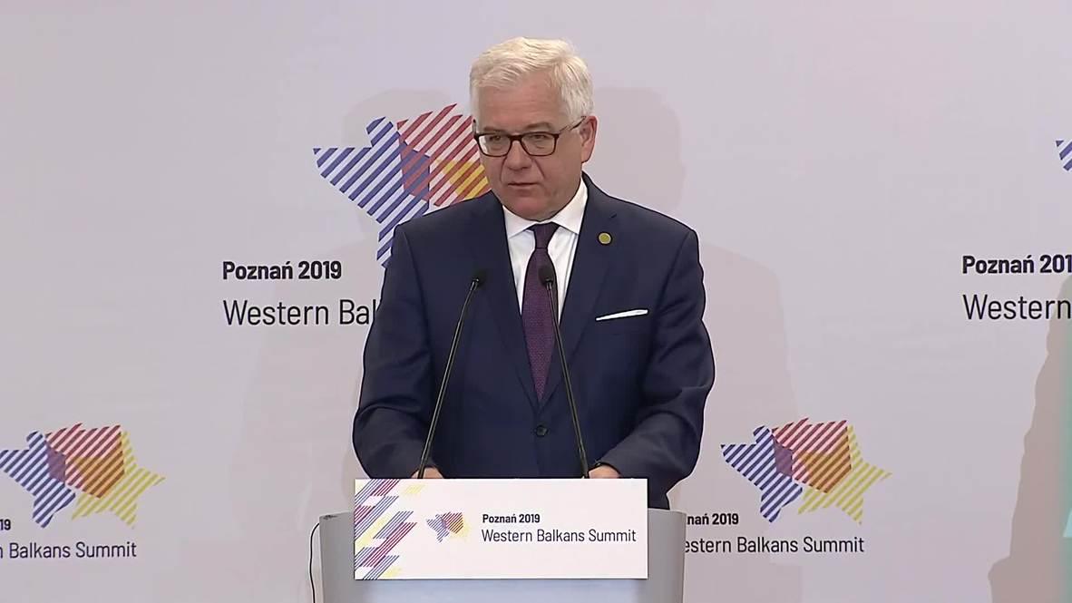 Poland: Western Balkans EU accession is crucial for security – Polish FM