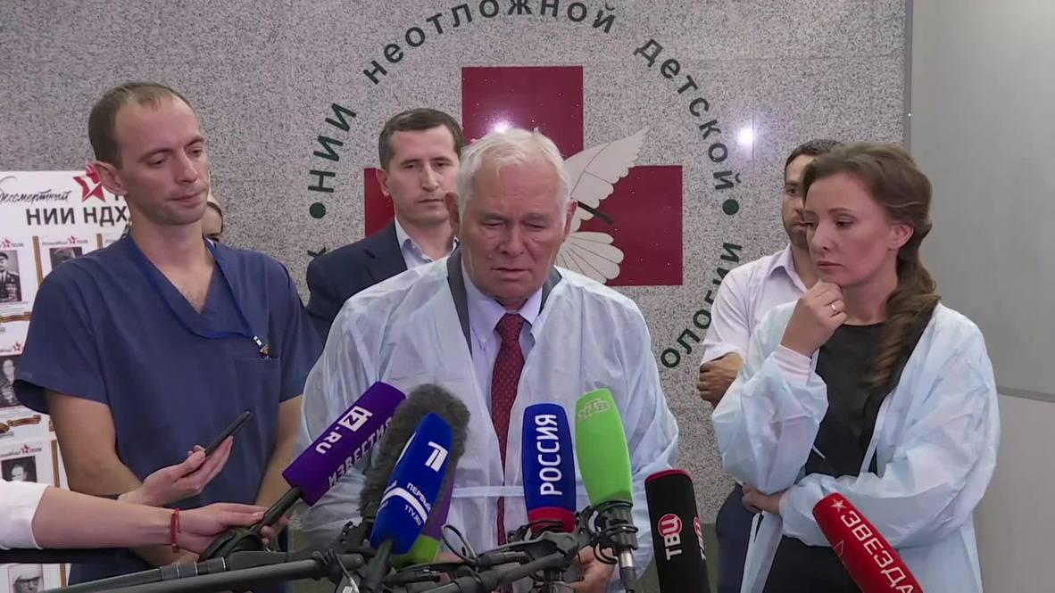 """Россия: """"Доктора, видавшие виды, ужасались"""" - девочку из Ингушетии осмотрели в центре Рошаля"""