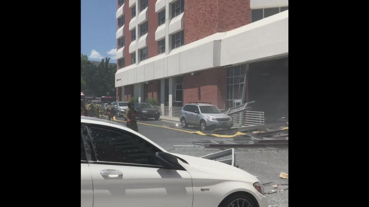 USA: Explosion rips through University of Nevada dorms