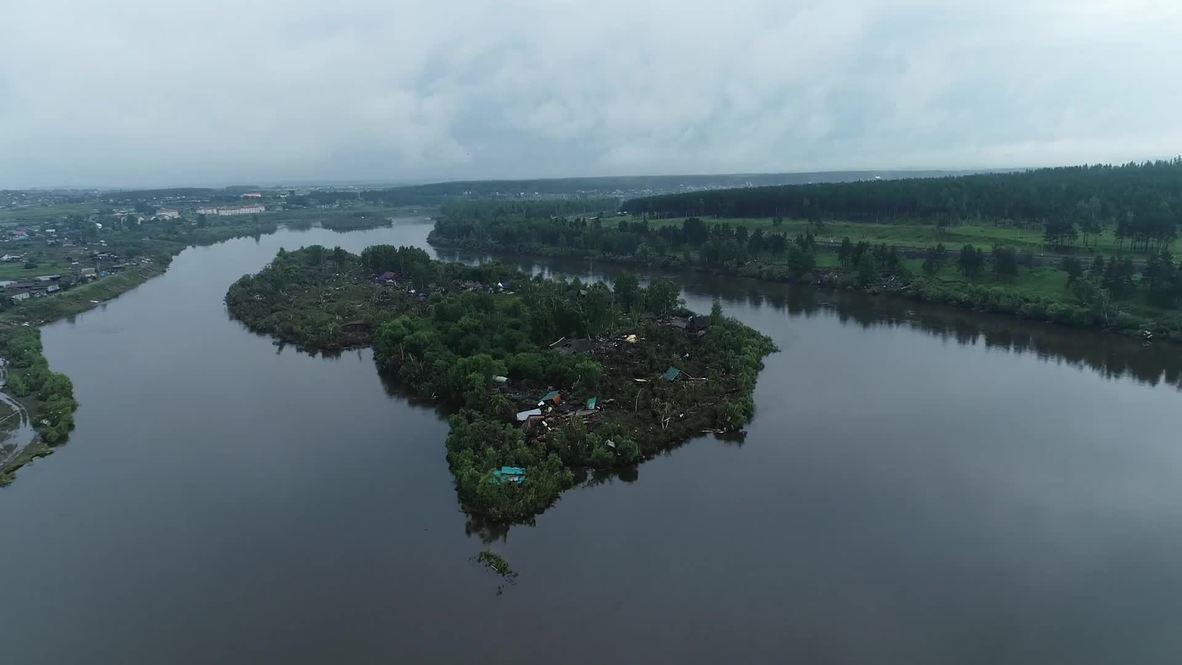 Rusia: Número de fallecidos por inundaciones en Irkutsk aumenta a 23