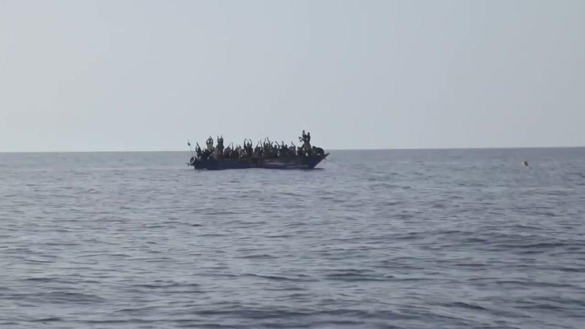 Mediterranean Sea: Sea-Eye rescue ship saves 44 migrants off Libyan coast