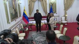 Venezuela: EU Special Advisor Iglesias meets Maduro in Caracas