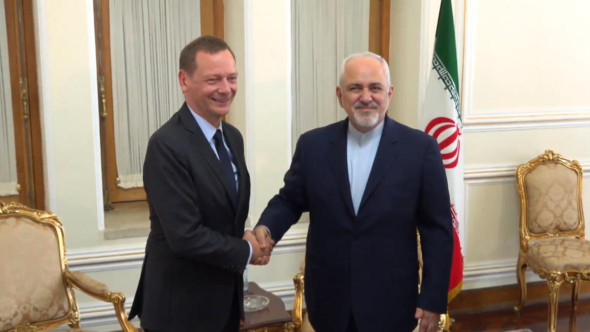 Irán: Zarif se reúne con el enviado francés para discutir el programa nuclear iraní