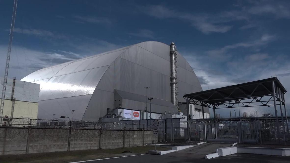 """Украина: """"Новый безопасный конфайнмент"""". Над Чернобыльской АЭС обновили саркофаг"""
