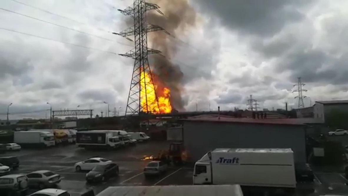 Россия: При пожаре на подмосковной ТЭЦ в Мытищах 12 пострадавших