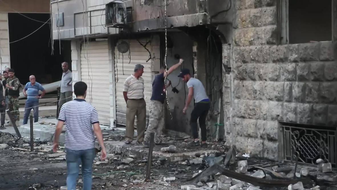 Siria: Varios heridos en ataque con coche bomba fuera de una iglesia en Qamishli