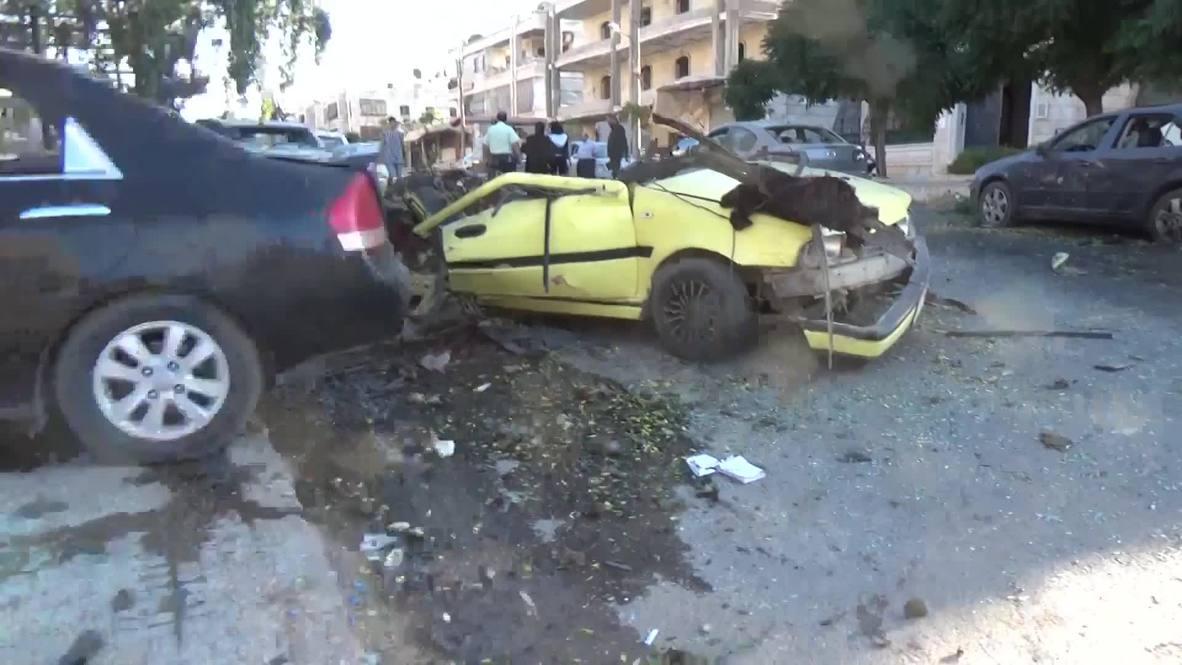 Siria: Al menos seis muertos en un ataque con cohetes en Alepo