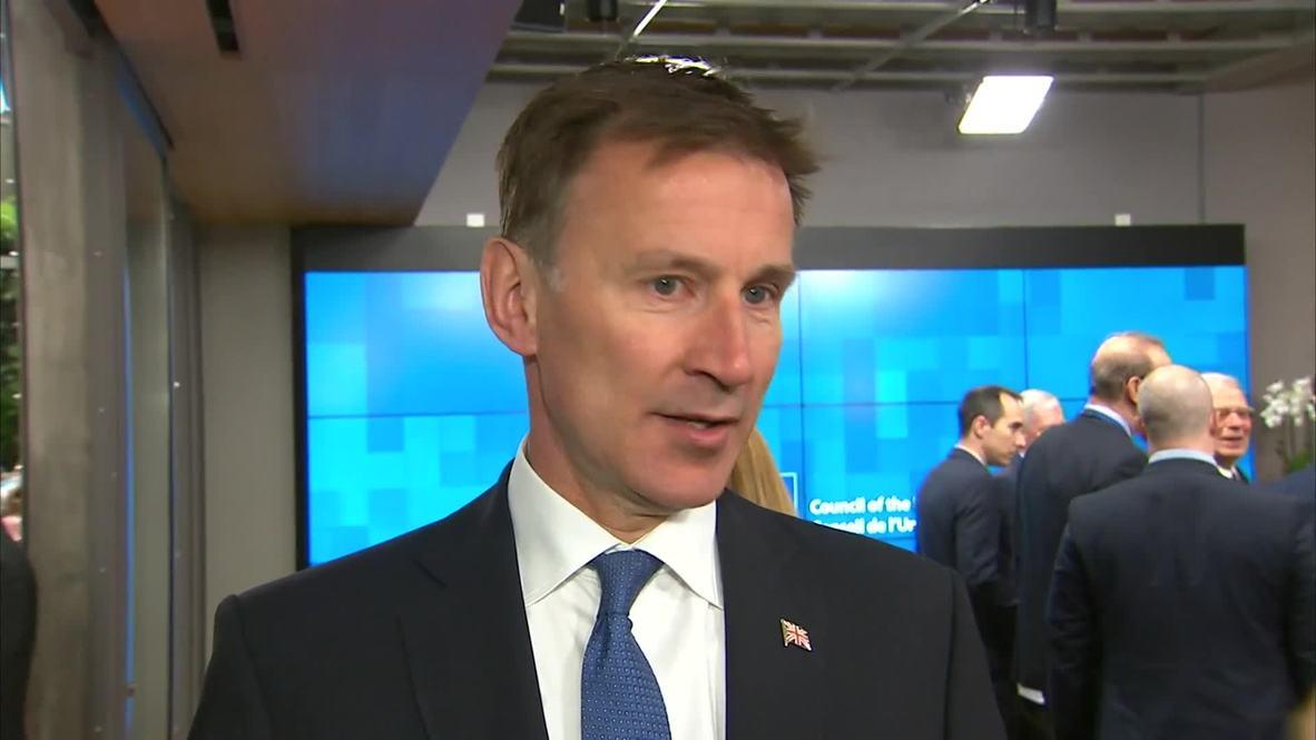 """Bélgica: """"Pequeña ventana"""" para mantener vivo el acuerdo nuclear con Irán - Min de Exteriores británico"""