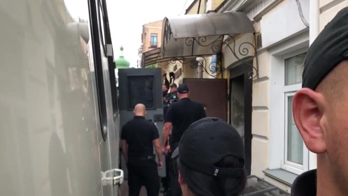 Украина: Кирилл Вышинский покинул здание суда после решения о переносе дела