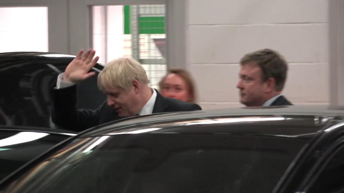 UK: Johnson and Hunt depart after final Tory leadership debate
