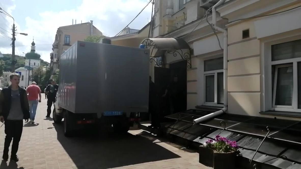 Украина: Кирилла Вышинского доставили в здание Подольского суда, заседание началось