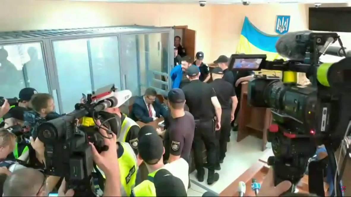 Украина: Кирилл Вышинский ответил на вопросы журналистов после оглашения приговора
