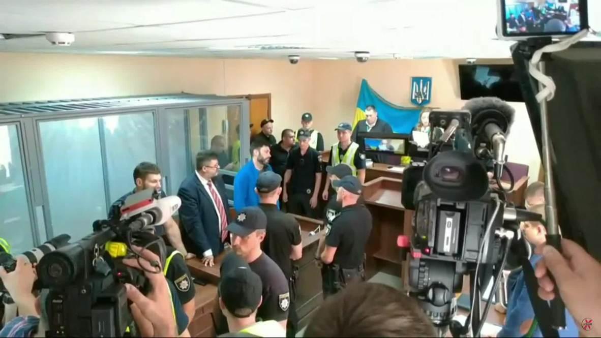 Украина: Оглашение приговора Кириллу Вышинскому в Подольском суде Киева