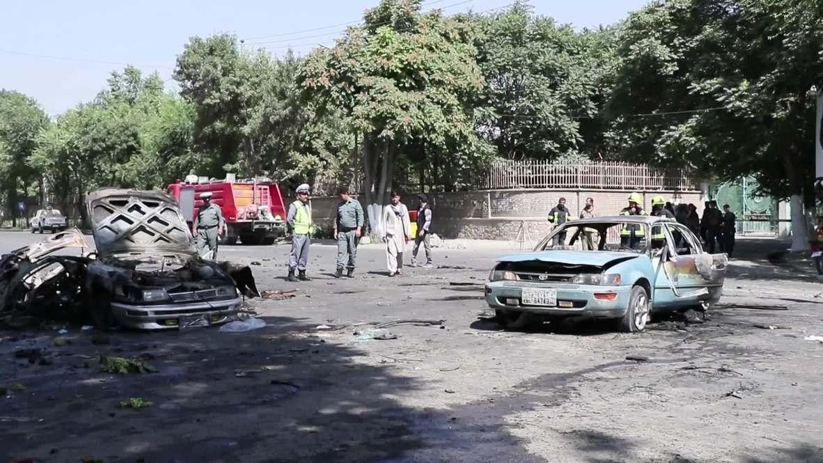 Afghanistan: 9 killed, 33 injured in suicide blast near Kabul University
