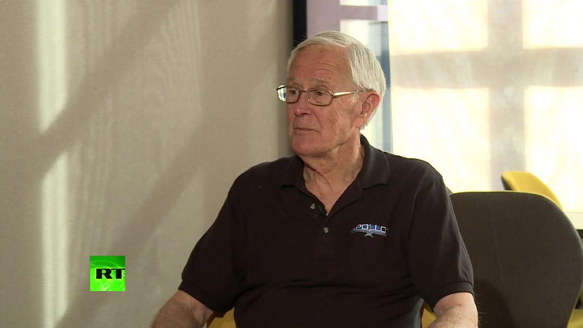 Suiza: Piloto del Apolo 16 revela detalles de misión que lo llevó a la luna *CONTENIDO DE SOCIOS*
