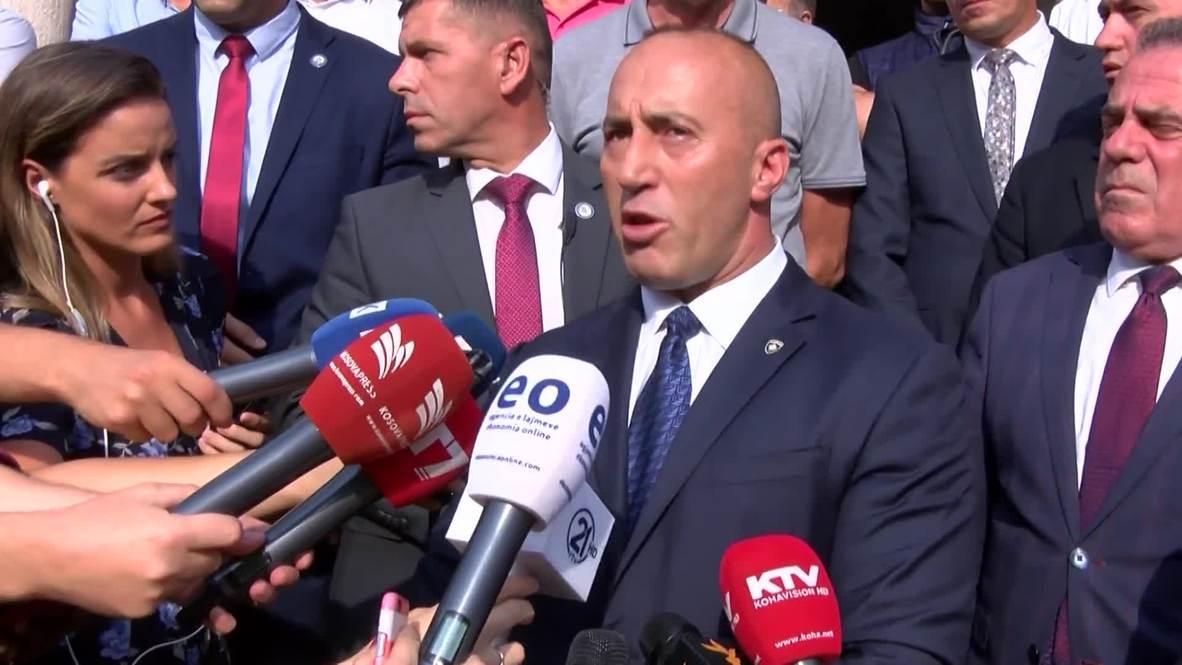 Serbia: Kosovo PM Haradinaj resigns after summons from Hague human rights prosecutors