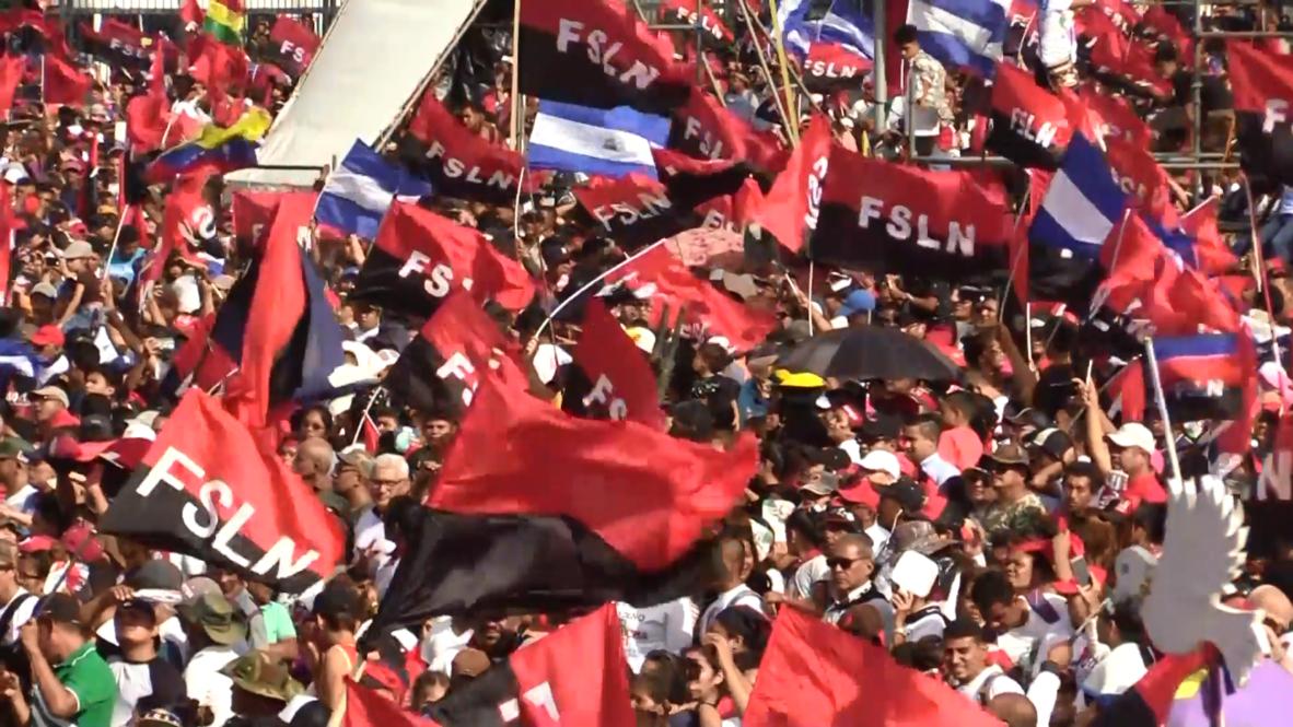 Nicaragua: Miles de personas celebran el 40 aniversario de la Revolución Sandinista