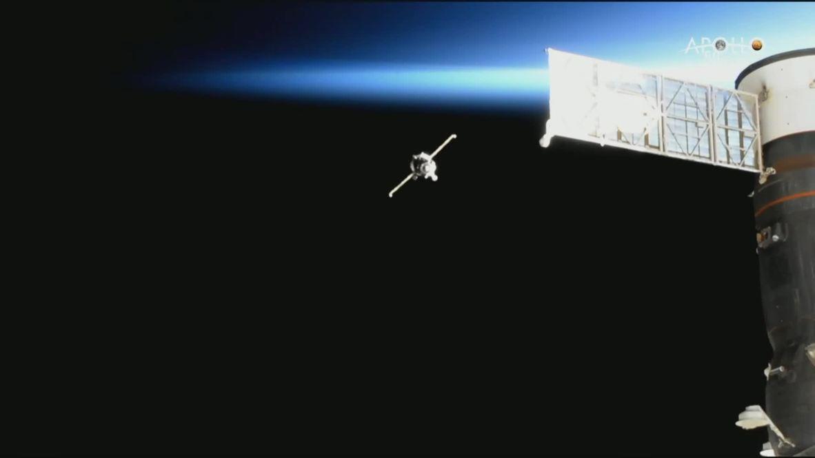 EEI: La expedición 60-61 se acopla con éxito a la Estación Espacial Internacional