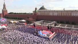 Россия: В Международный день бокса тысячи спортсменов на Красной площади пошли на рекорд